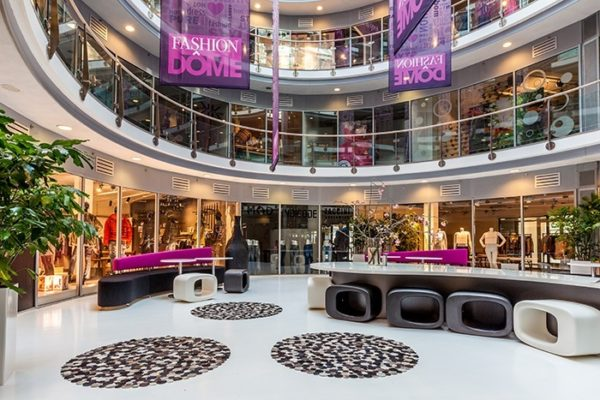fashion dome Almere interieur